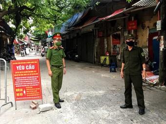 Quận Thanh Xuân: Tăng cường các biện pháp phòng chống dịch Covid - 19