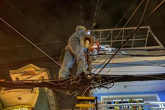 Điện lực TP.HCM cảnh báo an toàn điện mùa mưa
