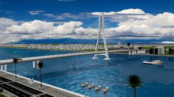 Thi tuyển kiến trúc cầu Nhật Lệ 3 bắt đầu từ tháng 9/2021