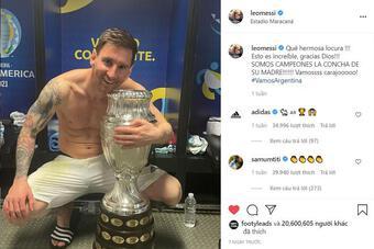 Ronaldo bị Messi vượt qua trên mạng xã hội, đăng thông điệp gây tò mò
