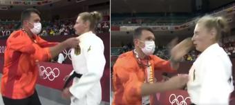 Nữ võ sĩ judo bị huấn luyện viên ''tát 2 cái và lắc mạnh'' trước trận đấu ở Olympic