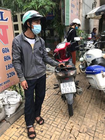 CSGT bắt đối tượng trộm xe máy từ Tiền Giang lên TP.HCM bán trong dịch COVID-19