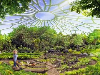 Tòa nhà khổng lồ trồng hàng nghìn cây xanh, tự sản xuất năng lượng