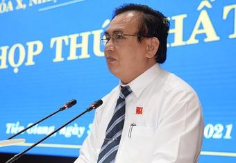 Ông Võ Văn Bình được bầu làm Chủ tịch HĐND tỉnh Tiền Giang