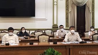 Tổ công tác đặc biệt của Bộ Công Thương và Bộ NN&PTNT làm việc với UBND TP. Hồ Chí Minh