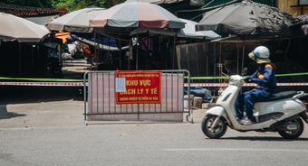 Hà Nội tìm người đến cây xăng cạnh chợ đầu mối Đền Lừ