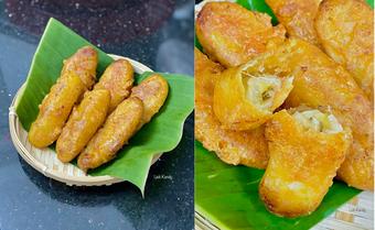 Ở nhà mùa dịch, người phụ nữ trẻ sáng tạo nhiều món ăn ngon từ chuối chín