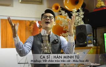 Ca sĩ Hàn Minh Tú ra mắt MV ''''Vết chân tròn trên cát - Màu hoa đỏ''''