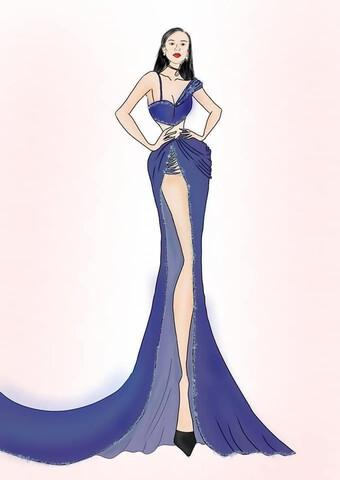 Fan ráo riết ''hiến kế'' vô số kiểu dáng váy dạ hội cho Kim Duyên tại Miss Universe 2021