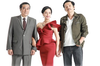 ''Ông bố quốc dân'' Trung Anh bất ngờ vào vai ''tiểu tam'' cắm sừng NSND Mạnh Cường