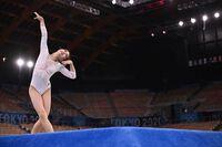 Vẻ đẹp nữ VĐV trẻ nhất tuyển thể dục dụng cụ Hàn Quốc