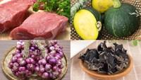 Cách nấu canh bí đỏ da xanh nhồi thịt thơm ngon, chuẩn vị cho bữa cơm