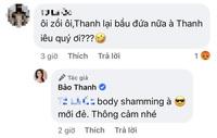 """Bảo Thanh tươi tắn khoe sắc vóc hậu sinh con, netizen vào bình phẩm body shaming liền """"nổi đoá"""" đáp trả!"""