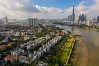 Tốc độ tăng giá nhà đất ở TP.HCM cao hơn căn hộ