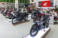 Doanh số xe máy Honda tại Việt Nam tiếp tục sụt giảm