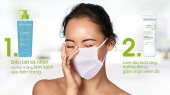 Cách loại bỏ những vết mụn khó chịu trên khuôn mặt bạn