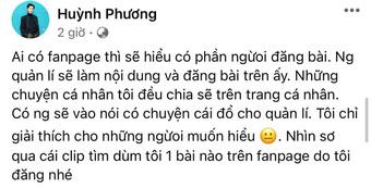 """Chưa hết căng: Vinh Râu đáp trả khi bị Lương Minh Trang """"bóc phốt"""", Huỳnh Phương vào thừa nhận bạn thân có cái sai rất lớn?"""