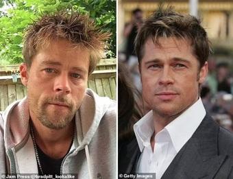 Bị phụ nữ đeo bám đến khổ sở chỉ vì... giống Brad Pitt