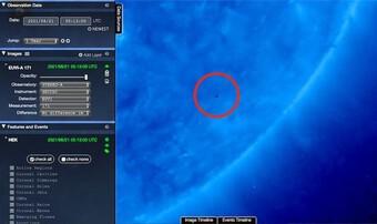 Phát hiện UFO gần Mặt trời - bí mật về sự sống ngoài hành tinh sắp được hé lộ?