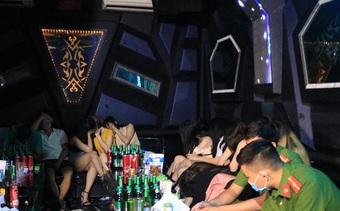 Hơn 40 nam thanh nữ tú tụ tập ''bay lắc'' ở Hải Phòng