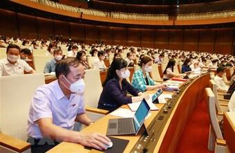Kỳ họp thứ nhất, Quốc hội khóa XV: Bầu các chức danh quan trọng