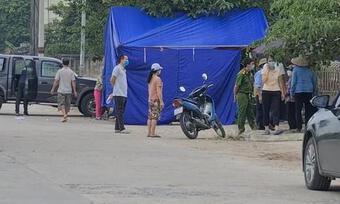 Nhân viên bảo vệ bị sát hại, đốt xe máy ngay tại cổng công ty