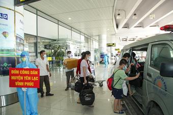 Các địa phương lên phương án đón công dân từ TP Hồ Chí Minh về quê