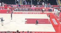 Robot ném bóng rổ trình diễn ấn tượng tại Olympic 2021