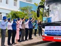 Đoàn tình nguyện Trường ĐH Y dược Cần Thơ tiếp sức cho Vĩnh Long chống dịch Covid-19
