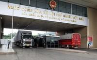 """Tỉnh Lào Cai khơi thông """"luồng xanh"""" cho vận tải hàng hóa"""
