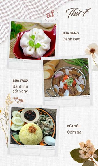 Gợi ý thực đơn 3 bữa cho cả tuần giãn cách - bữa nào cũng nhanh gọn mà hấp dẫn
