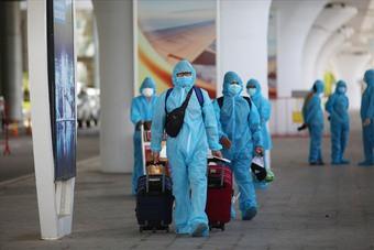 Đà Nẵng đón công dân trở về từ tâm dịch