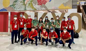 9 VĐV Việt Nam rời Olympic Tokyo về nước, cách ly 14 ngày
