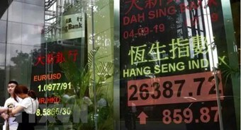 Thị trường Hong Kong dẫn đầu đà giảm của chứng khoán châu Á