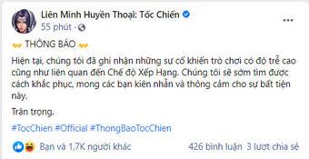 """Bị game thủ Việt dọa đánh sập game, Tốc Chiến có hành động """"outplay"""" khiến cộng đồng khóc thét"""