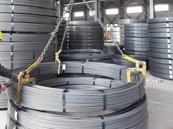 Sản lượng thép dự ứng lực Hòa Phát tăng trưởng hơn 100%
