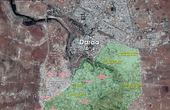 """""""Thanh kiếm của TT Putin"""" bất ngờ xuất hiện ở miền nam Syria: Đòn sấm sét sắp giáng xuống?"""