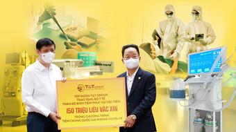 Tập đoàn T&T hỗ trợ gần 20 tỷ đồng giúp các địa phương chống dịch