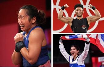 VĐV Thái Lan, Philippines, Indonesia... 'bơi' trong tiền thưởng