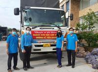 Tiền Giang tiếp nhận 13 tấn rau củ từ giáo viên tỉnh Lâm Đồng hỗ trợ