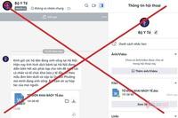 Xuất hiện tài khoản Zalo mạo danh Bộ Y tế gửi file chứa mã độc
