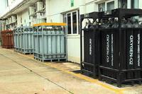 Cận cảnh nhà máy sản xuất oxy y tế ''khổng lồ'' phục vụ bệnh viện điều trị COVID-19