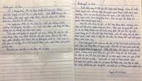 """Câu chuyện """"bát cơm hàng xóm"""" và 2 lá thư tay đầy xúc động giữa mùa dịch"""