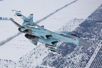 Tiêm kích Su-35S của Nga lao xuống biển ở vùng Viễn Đông