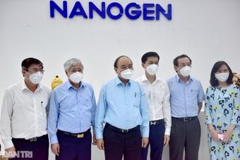 Chủ tịch nước đề nghị Bộ Y tế xem xét, sớm cấp phép vắc xin Nanocovax