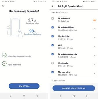 Mẹo dọn rác để tiết kiệm dung lượng lưu trữ của smartphone nổi bật tuần qua