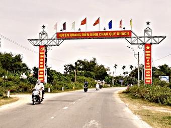 Thừa Thiên Huế: Phấn đấu có từ 07-09 xã đạt chuẩn nông thôn mới năm 2021