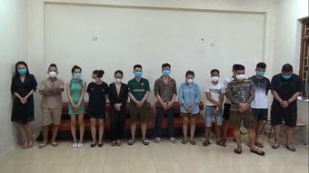 Khởi tố 5 người trong nhóm Dương Minh Tuyền bị bắt ở quán karaoke