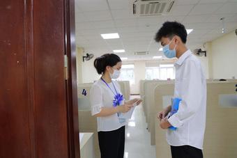 Thi đánh giá năng lực tại ĐH Quốc gia Hà Nội theo phương thức giãn cách