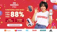ShopBack hoàn hơn 27 tỷ đồng cho người tiêu dùng Việt trong 1 năm